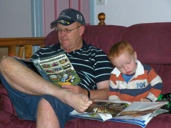 Joshua & daddy 7