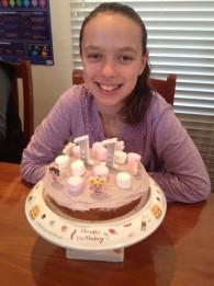 Sarah birthday cake
