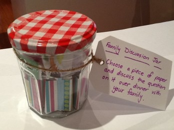 family discussion jar